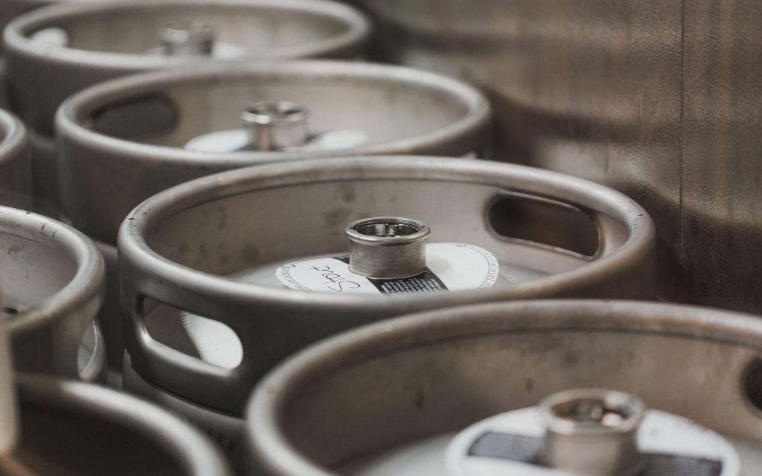 Barrels in a cellar